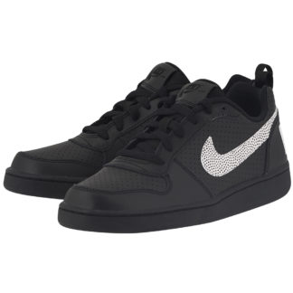 Nike - Nike Court Borough Low (GS) 839985-004 - ΜΑΥΡΟ