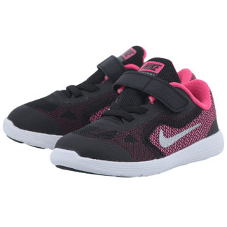 Nike - Nike Girls' Revolution 3 819418001-1 - ΜΑΥΡΟ/ΦΟΥΞΙΑ