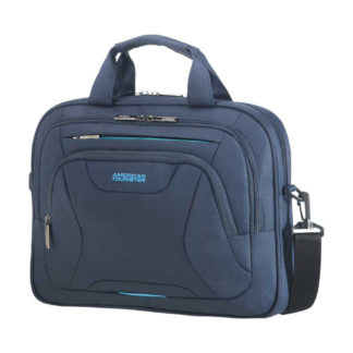 American Tourister - American Tourister At Work Laptop Bag 88531-SM1552 - μπλε σκουρο