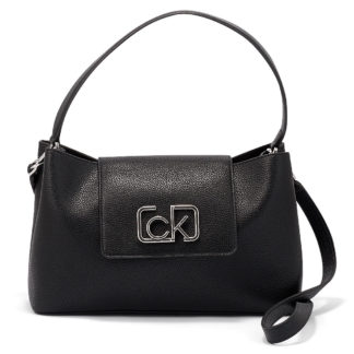 Calvin Klein - Calvin Klein Ck Cast Top Handle Md K60K606451-BDS - μαυρο