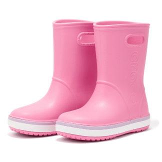 Crocs - Crocs Crocband Rain Boot K 205827-6QM - ροζ/μωβ