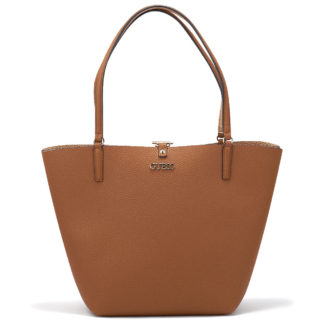 Guess - Guess Alby Toggle Tote HWVG7455230-CGR - ανθρακι