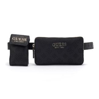 Guess - Guess Ilenia Pocket Belt Bag HWSG7473810-BLA - μαυρο