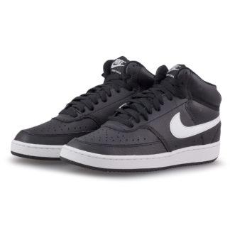 Nike - Nike Court Vision Mid CD5436-001 - μαυρο/λευκο