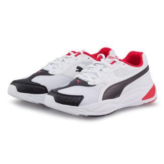 Puma - Puma 90S Runner Mesh Jr 372926-03 - λευκο/μαυρο