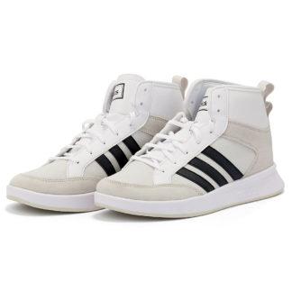 adidas Sport Inspired - adidas Court80S Mid EE9678 - λευκο/μαυρο