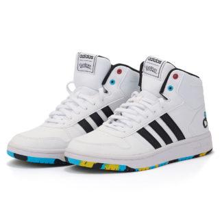 adidas Sport Inspired - adidas Hoops Mid 2.0 K EG1989 - λευκο